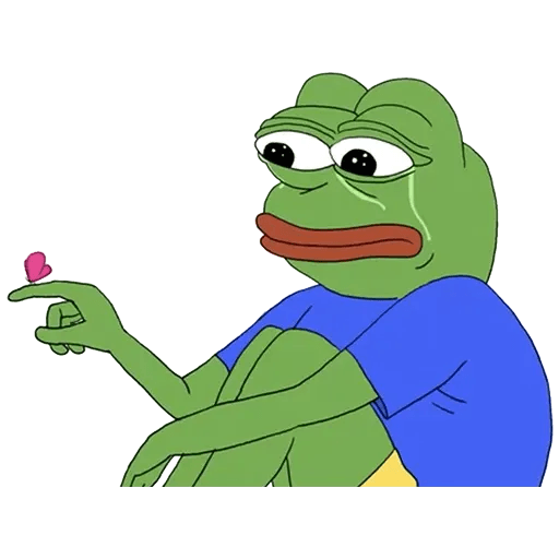pepe sad - Sticker 13