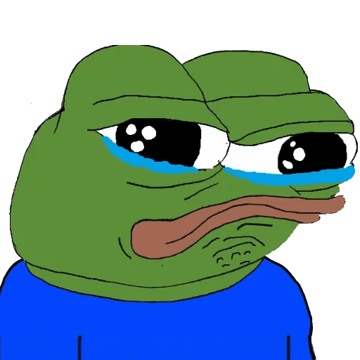 pepe sad - Sticker 10