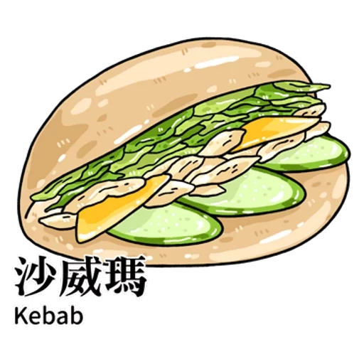 台灣夜市 - Sticker 14