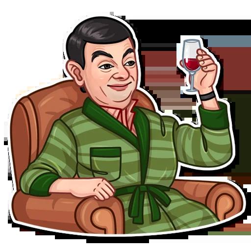 Mr. Bean - Sticker 12