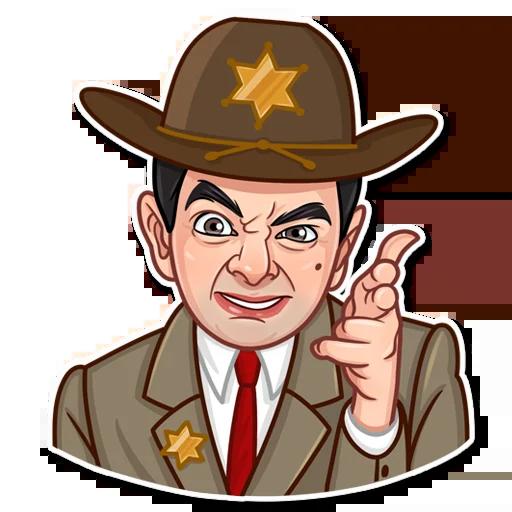 Mr. Bean - Sticker 20