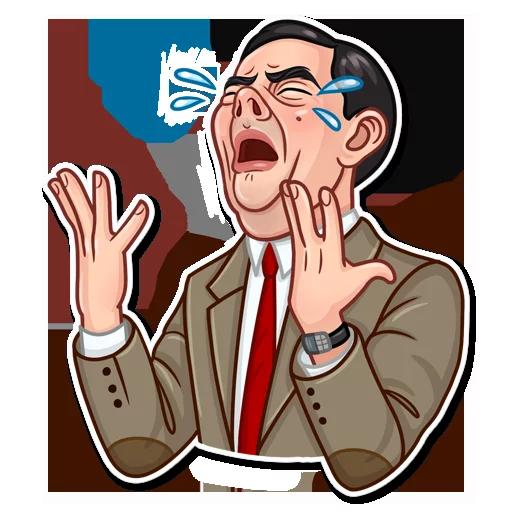Mr. Bean - Sticker 6