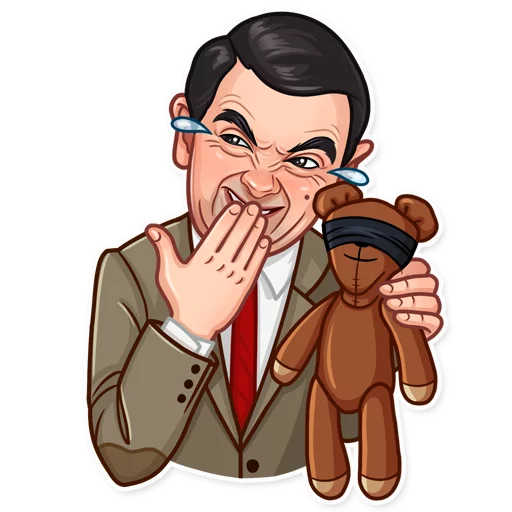 Mr. Bean - Sticker 1