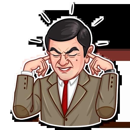 Mr. Bean - Sticker 21