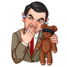 Mr. Bean - Tray Sticker