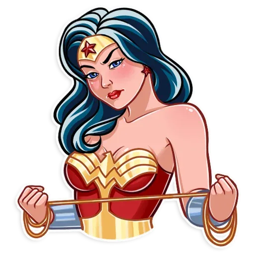 Wonder Woman - Sticker 11