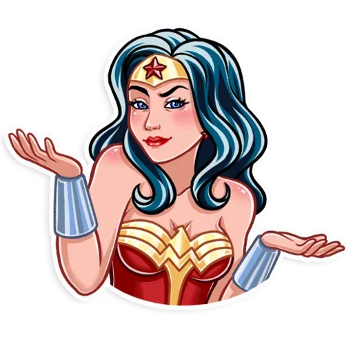 Wonder Woman - Sticker 6