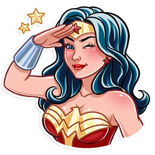 Wonder Woman - Sticker 16
