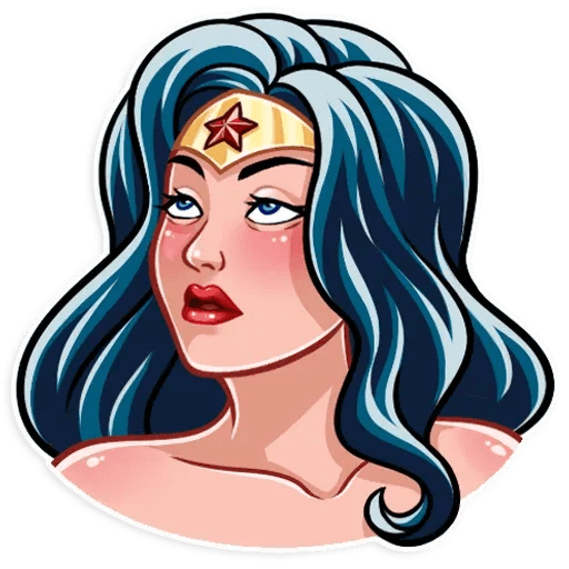 Wonder Woman - Sticker 3