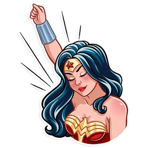 Wonder Woman - Sticker 2
