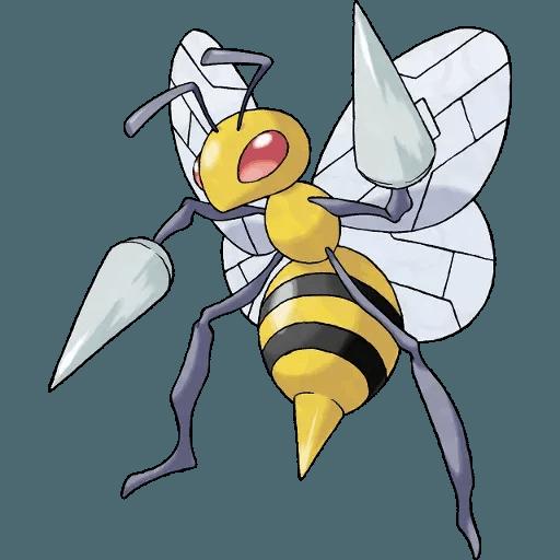 Pokemon First Generation I - Sticker 17