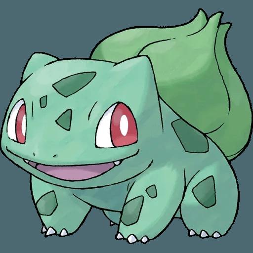 Pokemon First Generation I - Tray Sticker