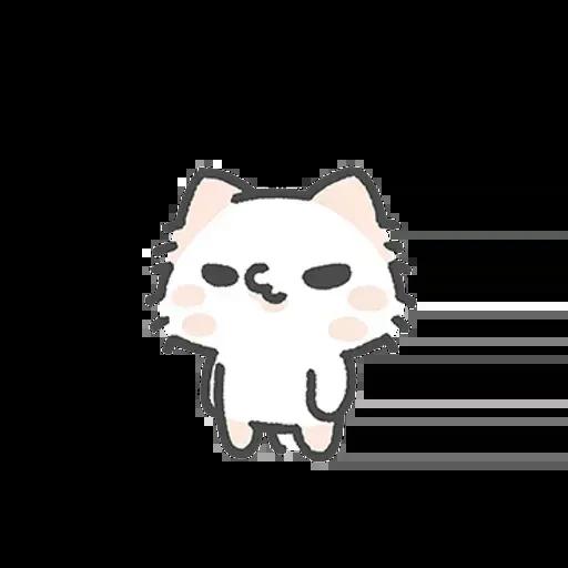 毛喵情侶日常 - Sticker 25