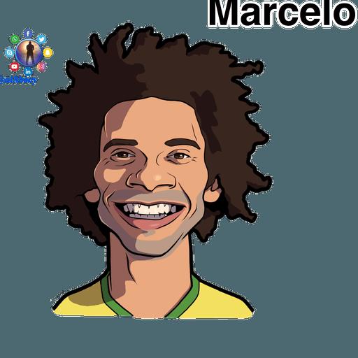 Football stars cartoons  - Sticker 12
