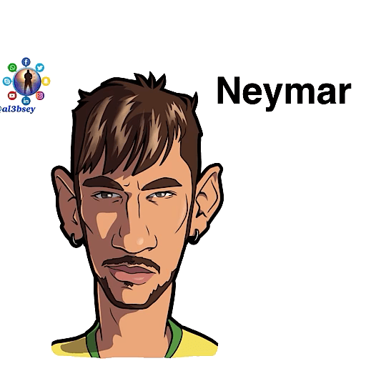 Football stars cartoons  - Sticker 22