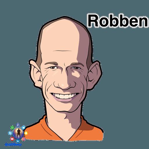 Football stars cartoons  - Sticker 15