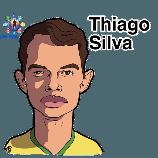 Football stars cartoons  - Sticker 10