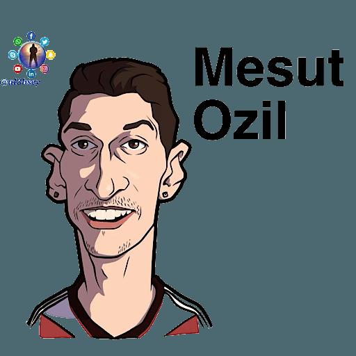 Football stars cartoons  - Sticker 27