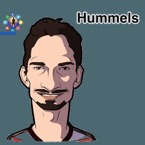 Football stars cartoons  - Sticker 16