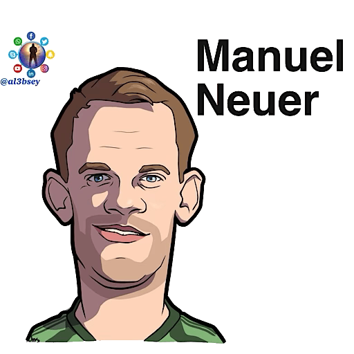 Football stars cartoons  - Sticker 18