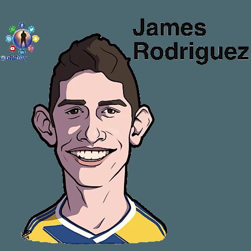 Football stars cartoons  - Sticker 28