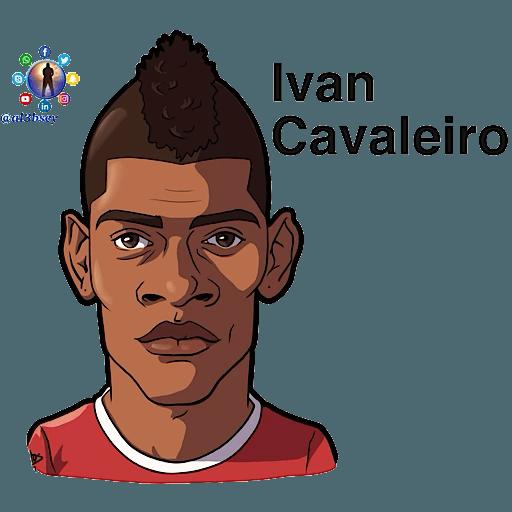 Football stars cartoons  - Sticker 21