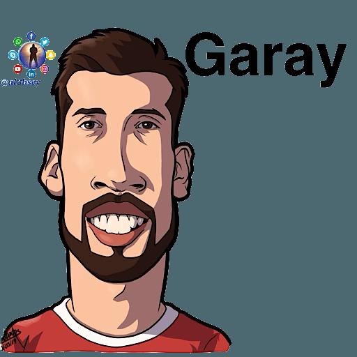 Football stars cartoons  - Sticker 26
