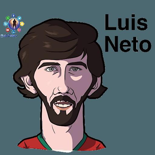 Football stars cartoons  - Sticker 20