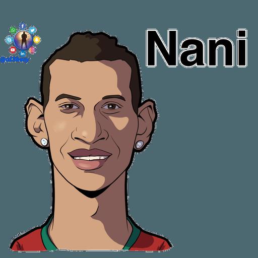 Football stars cartoons  - Sticker 13