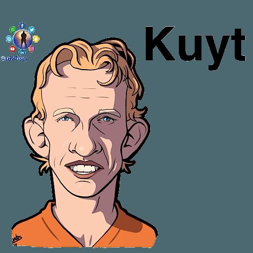 Football stars cartoons  - Sticker 24