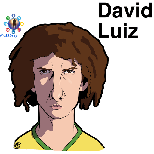 Football stars cartoons  - Sticker 17