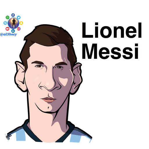 Football stars cartoons  - Sticker 2