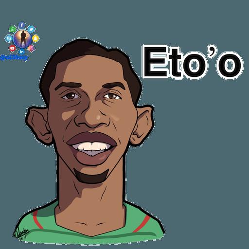 Football stars cartoons  - Sticker 14