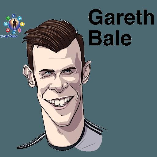 Football stars cartoons  - Sticker 23