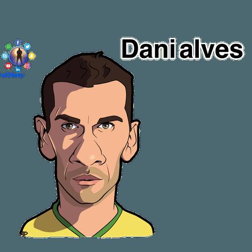 Football stars cartoons  - Sticker 7