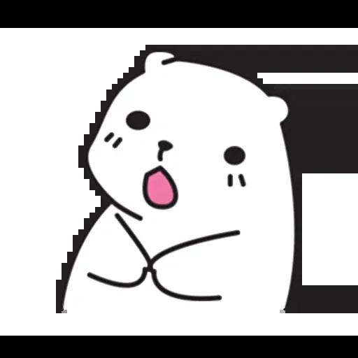Mu Bear - Sticker 29