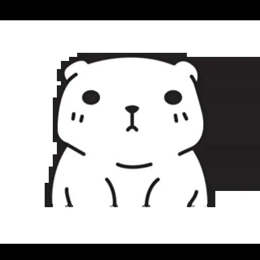 Mu Bear - Sticker 28