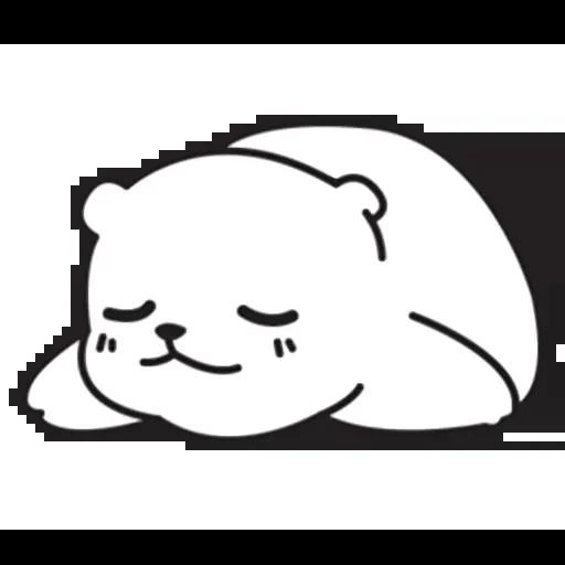 Mu Bear - Sticker 18
