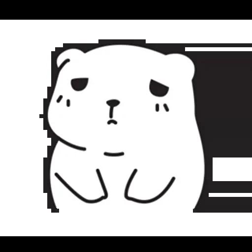 Mu Bear - Sticker 9