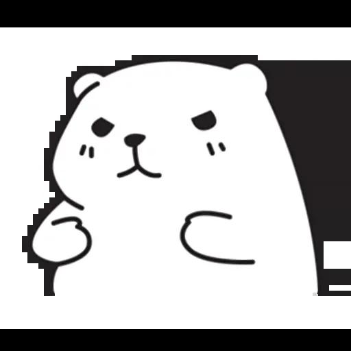 Mu Bear - Sticker 14