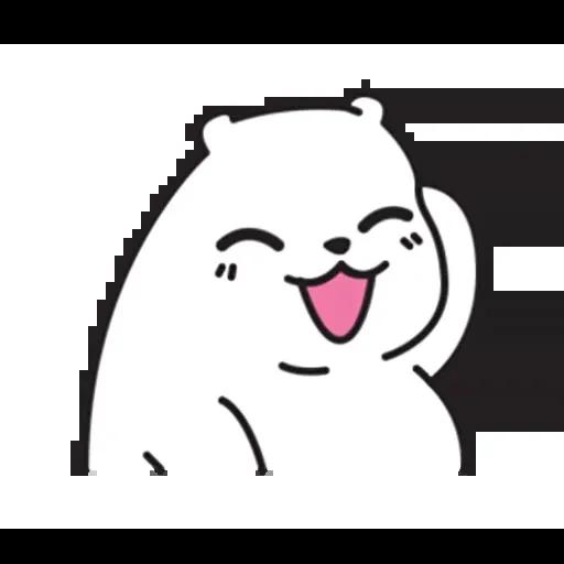 Mu Bear - Sticker 24