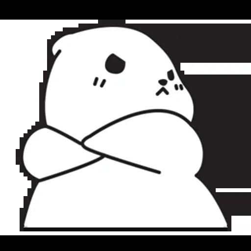Mu Bear - Sticker 13