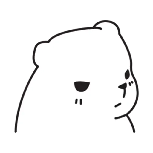 Mu Bear - Sticker 15
