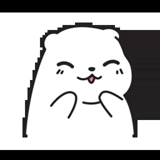 Mu Bear - Sticker 6