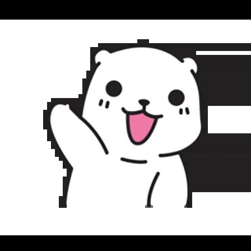 Mu Bear - Sticker 7