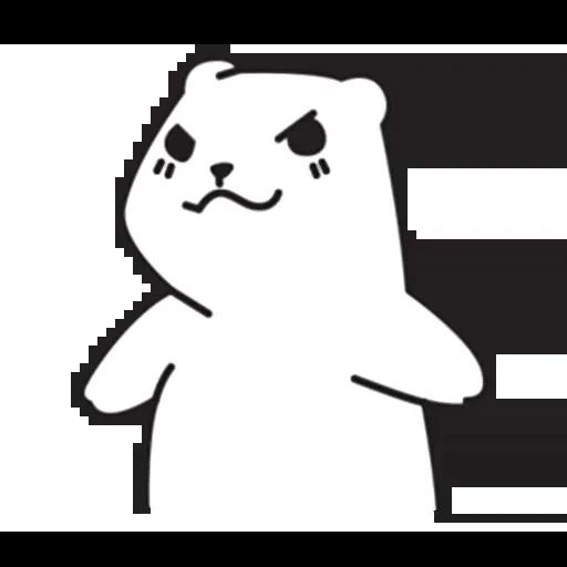 Mu Bear - Sticker 30