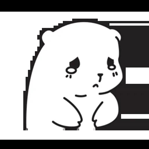Mu Bear - Sticker 11