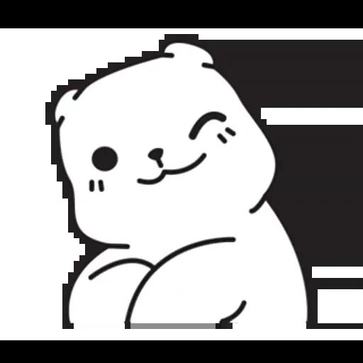 Mu Bear - Sticker 19