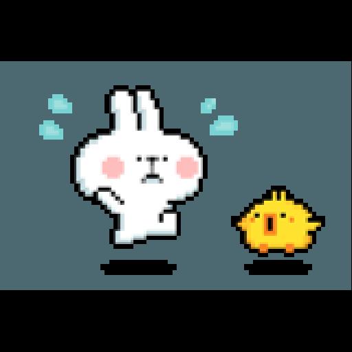 Spoiled Rabbit Dot - Sticker 13