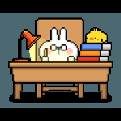 Spoiled Rabbit Dot - Sticker 6